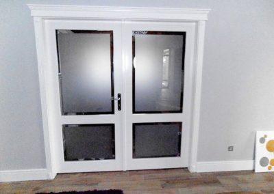 Drzwi z przeszkleniami