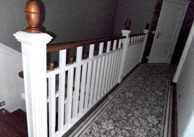 Balustrada biała