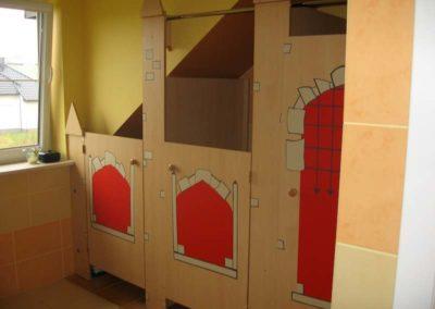 Zabudowa mebli w przedszkolu