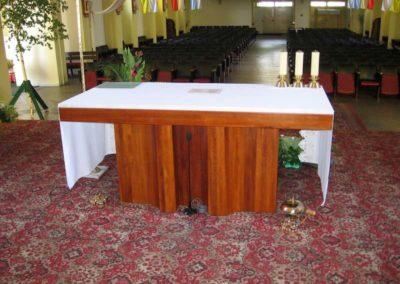 Meble do kościoła - ołtarz