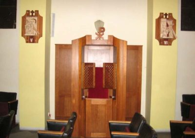 Meble sakralne - konfesjonał